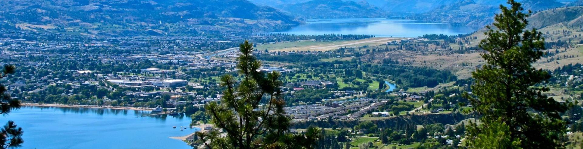 Penticton Viewpoint North to South