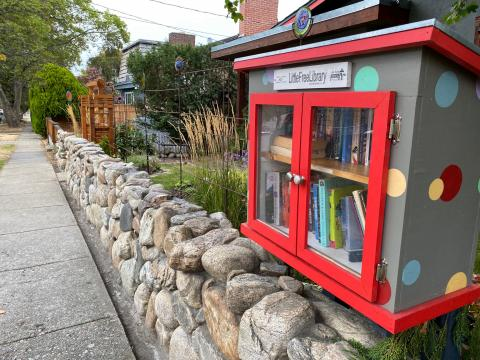 Love Local little library Penticton