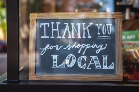 Love Local: Shop local