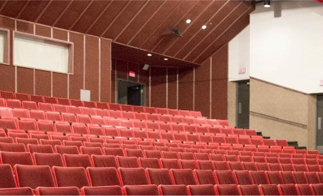 Cleland theatre seating